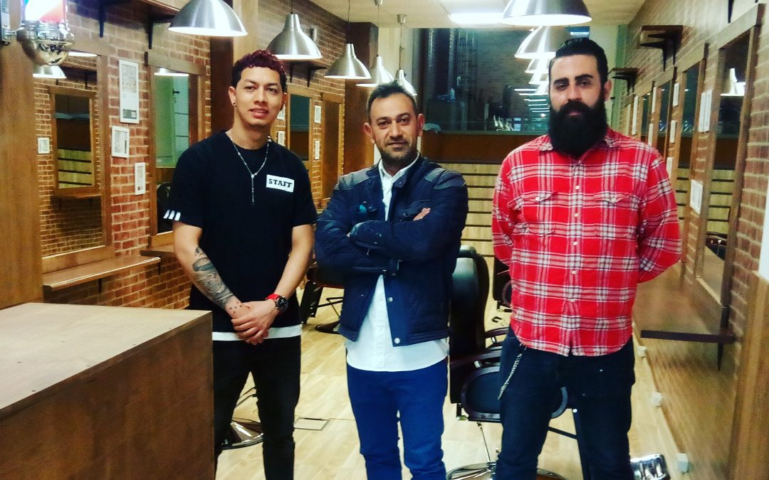 Arturo Gutierrez Peluqueria barberia academia baranda barber formacion madrid